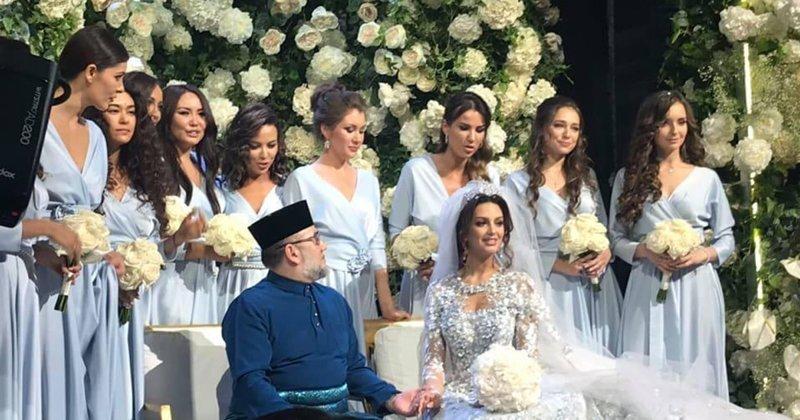 Женитьба короля Малайзии на русской красавице вызвала много вопросов