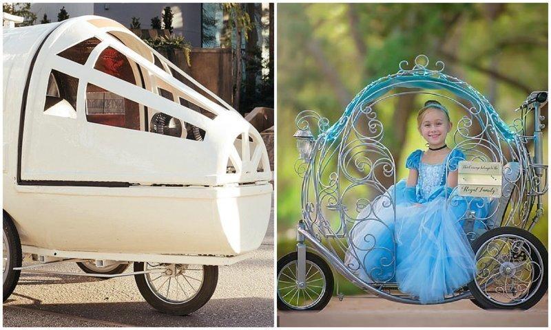 В парке Диснея запустят уникальные фантазийные коляски для детей
