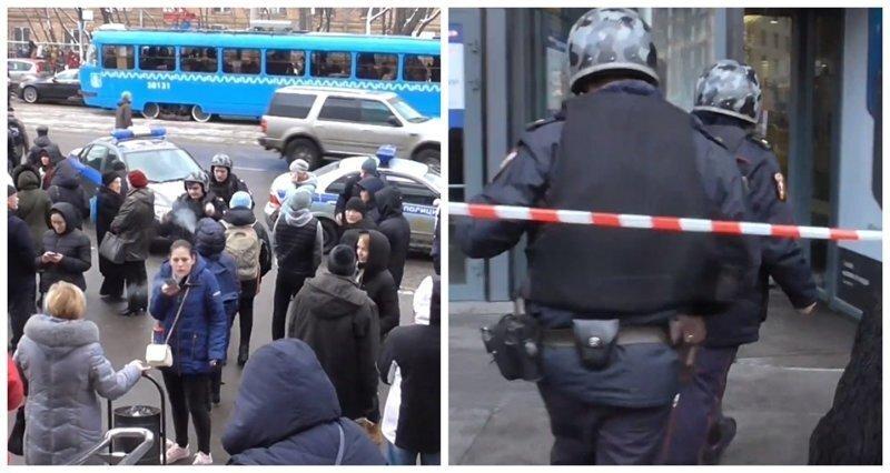 В Москве из-за хулиганов эвакуировали 10 торговых центров