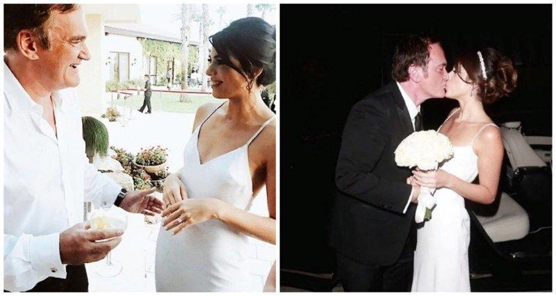 Впервые и тайно: Квентин Тарантино женился