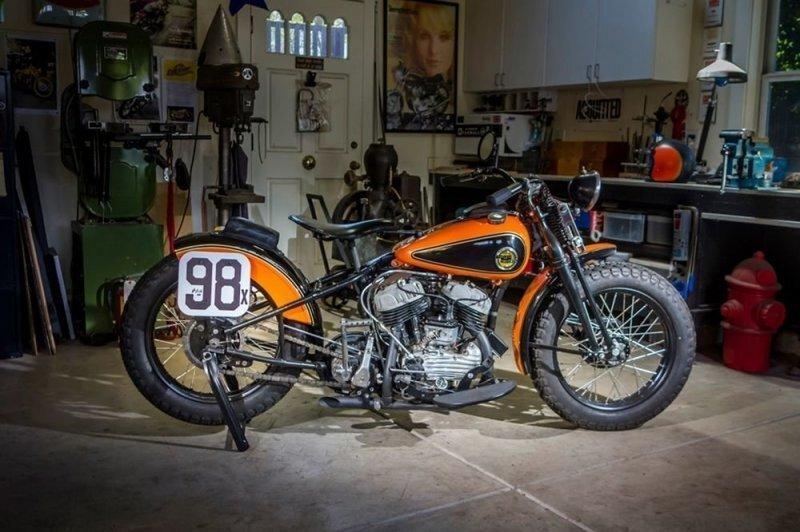 Кастом-байк Harley-Davidson WRTT Leonard Special