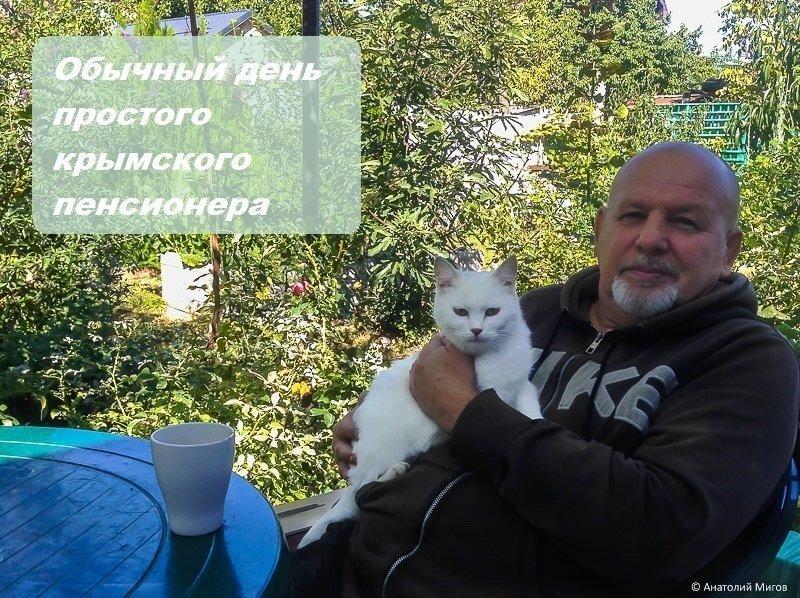 Один октябрьский день простого крымского пенсионера