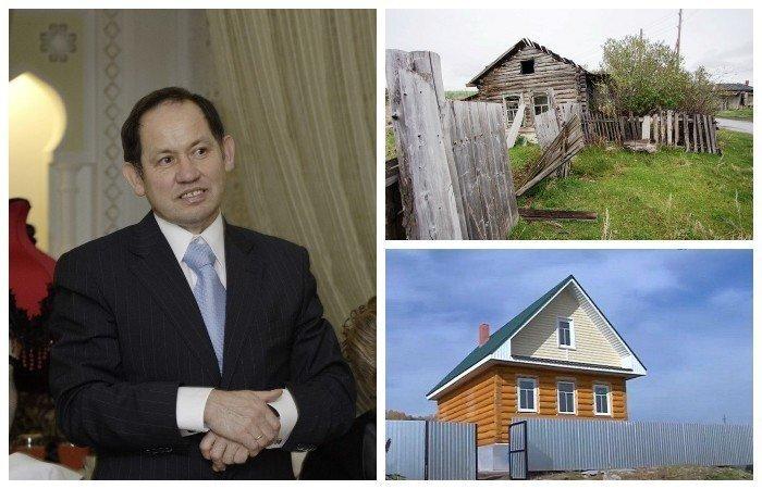 Бизнесмен из Питера строит жилье в родной деревне для односельчан