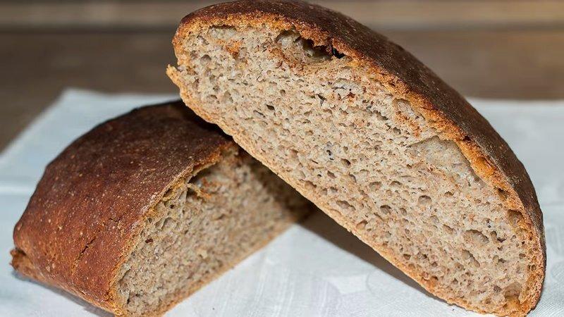 Ржаной домашний хлеб без вымешивания – простой рецепт