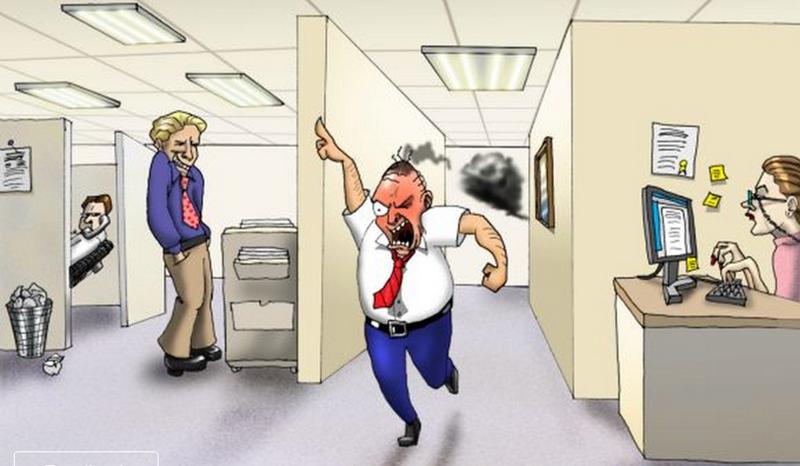 Всего 4% работников в России ненавидят своего начальника