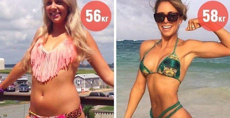 20 фотографий людей, которые стали весить больше, но выглядят от этого только стройнее