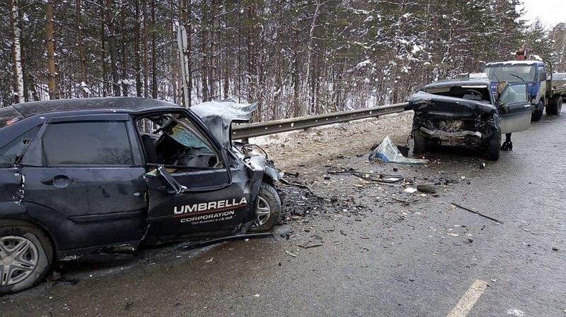 Авария дня. Смертельный обгон в Челябинской области