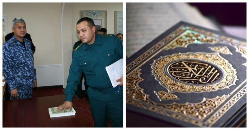 Кораном клянусь: узбекских милиционеров заставили пообещать не брать взяток и не воровать