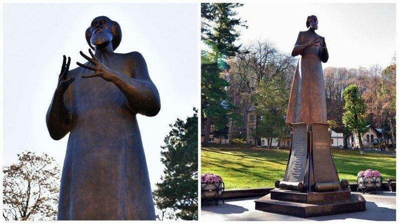 Памятник Солженицыну в Кисловодске