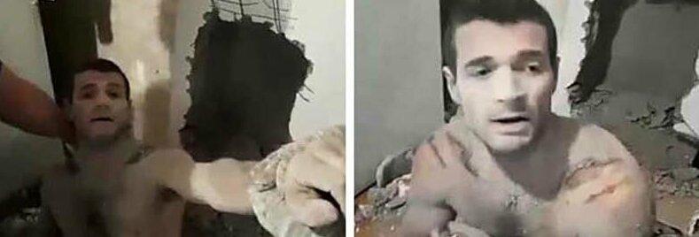 В Краснодаре спасли мужчину, который застрял на 13 часов в шахте дома