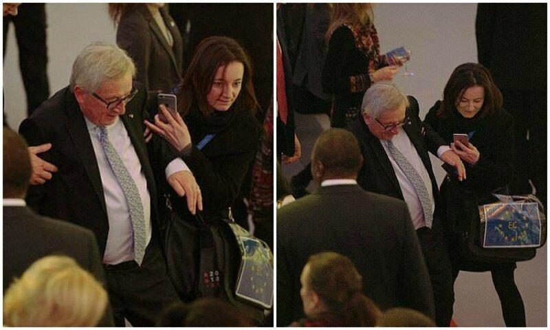Юнкер поплыл: глава Еврокомиссии снова пошатнулся во время саммита