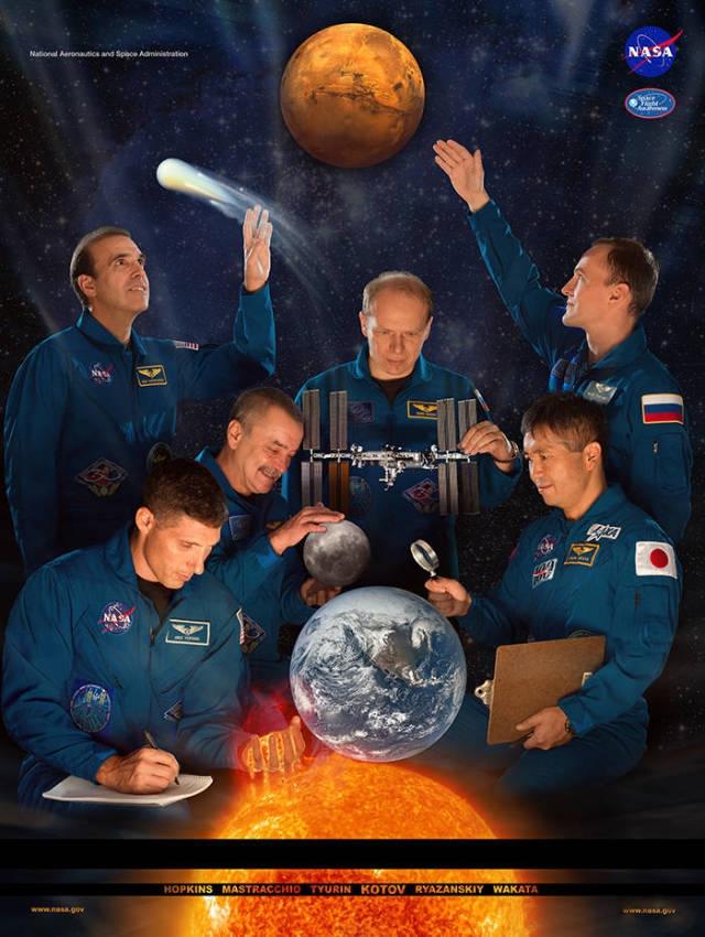 НАСА и постеры