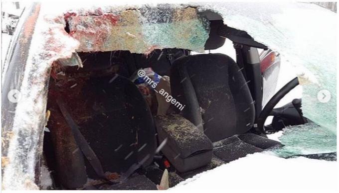 Не для слабонервных: что бывает, когда автомобиль сталкивается с прохожим или оленем