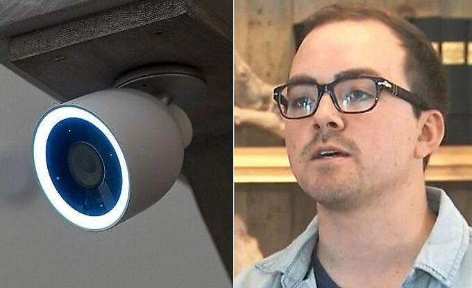 Хакер, взломавший камеру безопасности, пообщался с домовладельцем в США