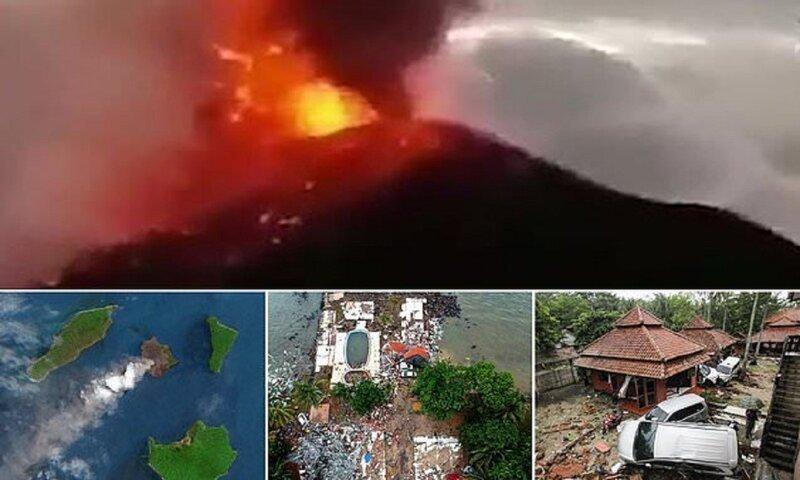 Число жертв цунами в Индонезии достигло 222 человек