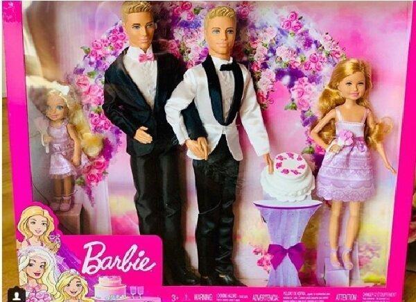 Производитель Барби готов выпустить однополую пару кукол