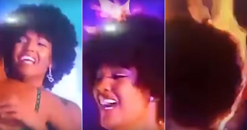 Волосы новой «Мисс Африка» загорелись в прямом эфире