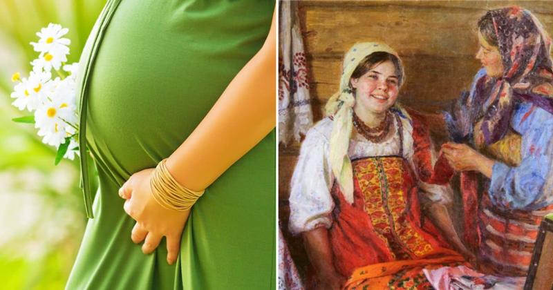 Как на Руси определяли пол будущего ребенка?