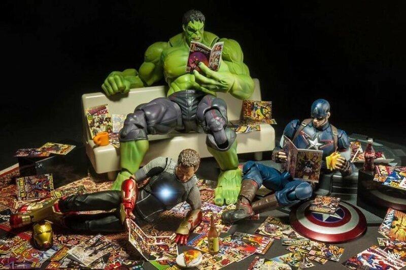Повседневная жизнь супергероев Marvel