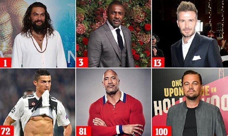 Опубликован список 100 самых красивых мужчин мира