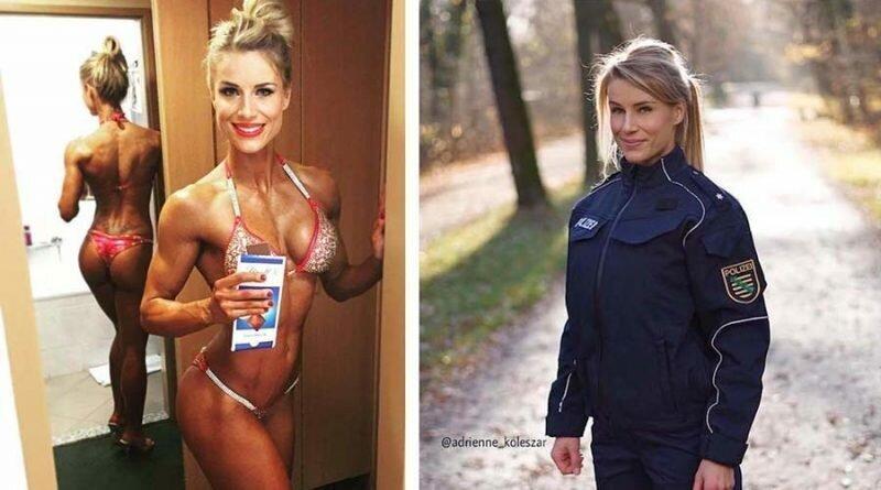 Горячая немецкая полицейская вернулась на работу, и это после того, как ей был выдвинут ультиматум: или Инстаграм, или служба