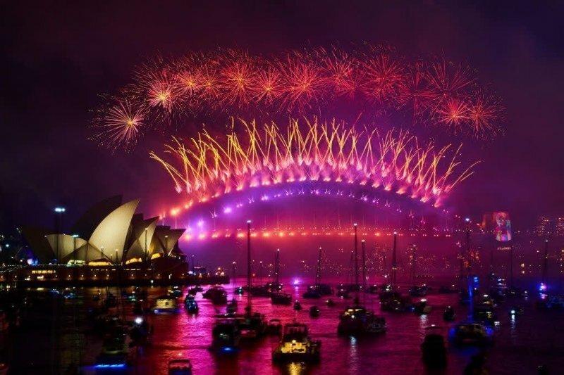 Как люди во всем мире встретили Новый год