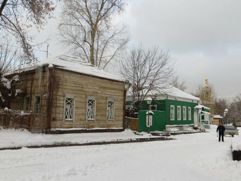 Деревенька в центре Москвы. Крутицкое подворье