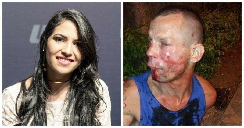 Неудобно получилось: воришка попытался ограбить девушку, но та оказалась бойцом UFC