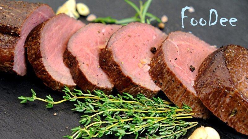Мясо шиворот-навыворот - сочная говядина, запеченная в духовке