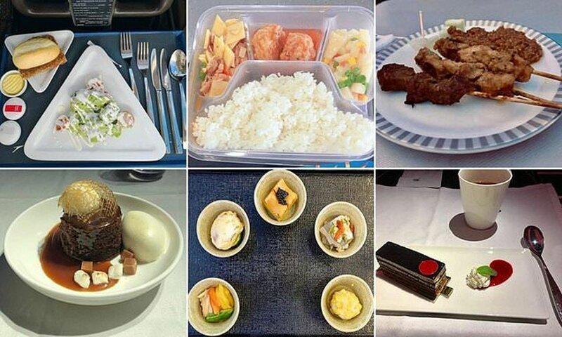 Авиапассажиры делятся фотографиями самолетной еды и голосуют за лучшее