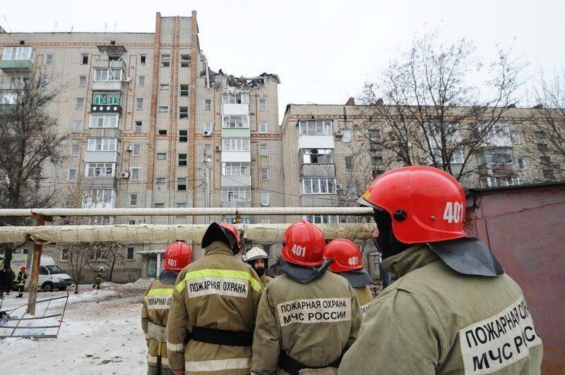 Кошмар повторяется: в Ростовской области рухнул подъезд многоэтажки