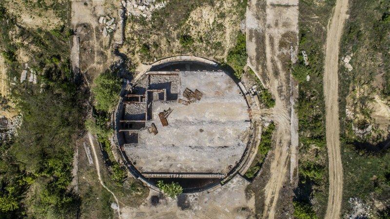 Секретный бункер в Молдове