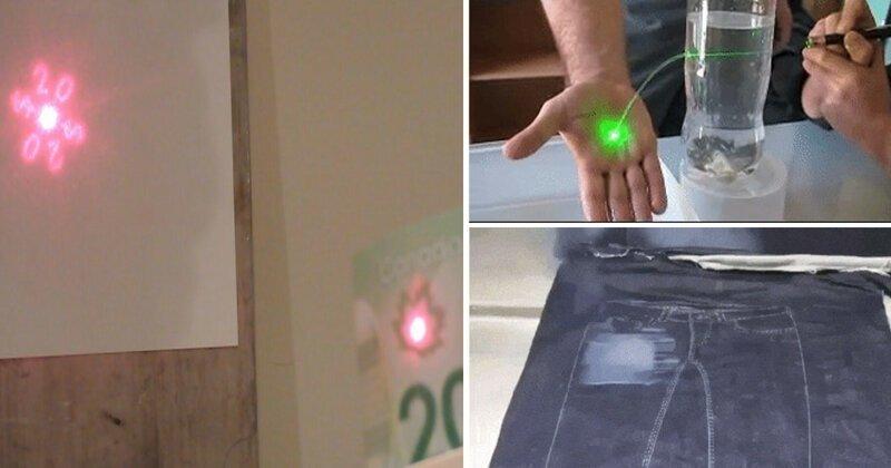 Невероятные штуки, которые можно проделать при помощи лазера