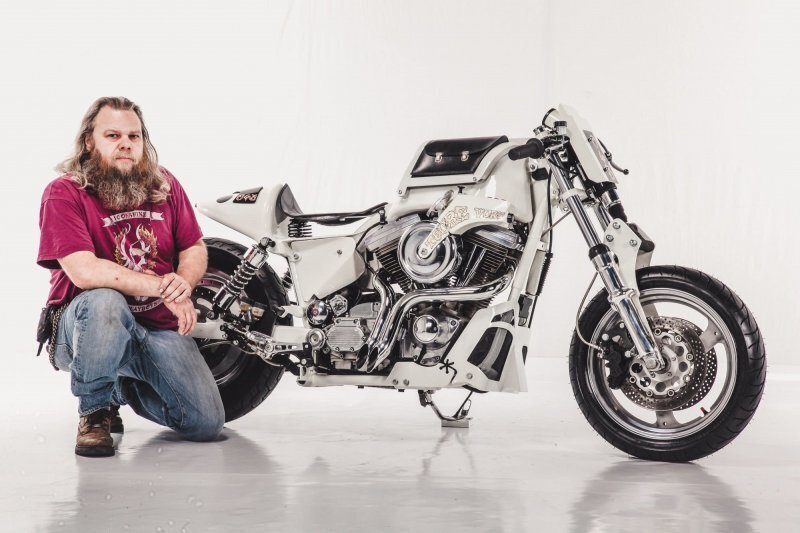 """Brut Voorut"": кастом из Harley-Davidson от голландского мастера"