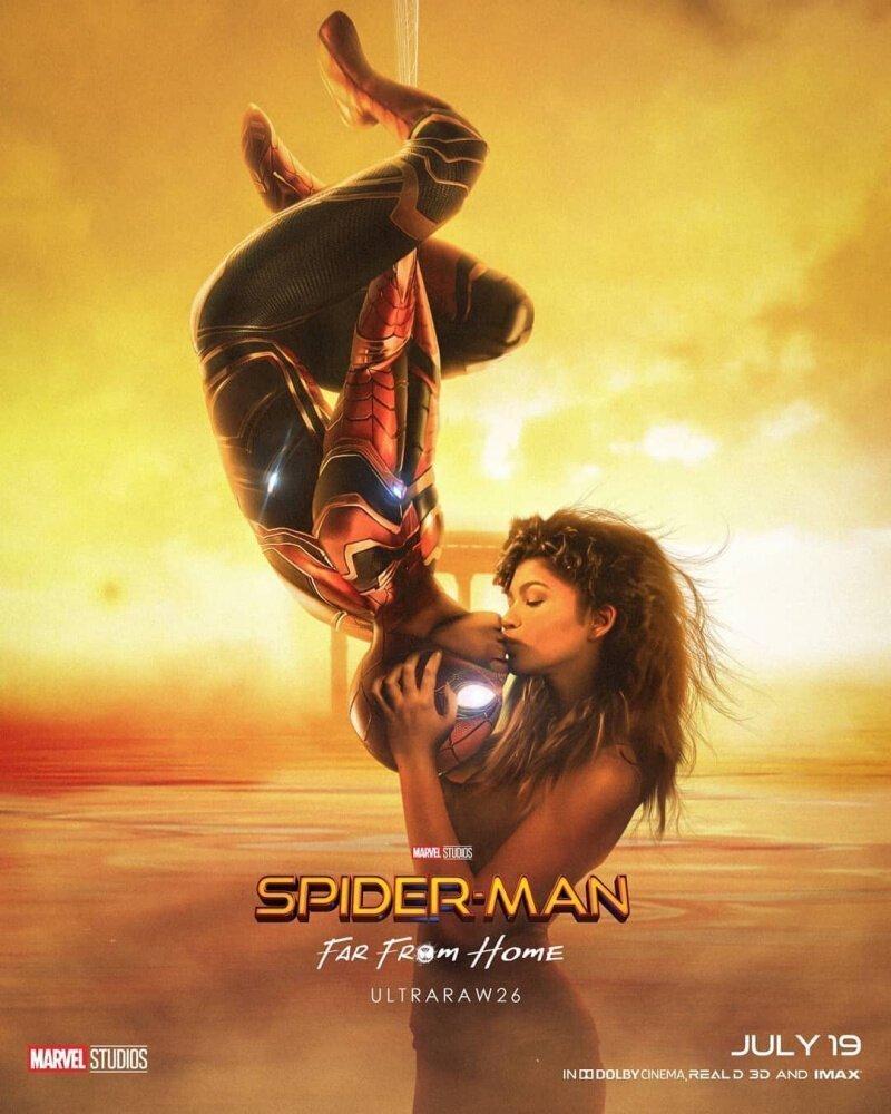 Свежий трейлер нового фильма: Человек-паук В дали  от дома (2019)