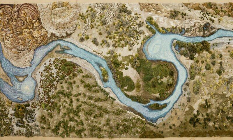 Долой типичные ковры: аргентинка мастерит ковры в виде природного ландшафта