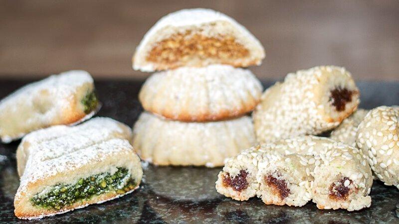 Восточные сладости - арабское печенье Маамуль