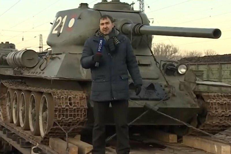 """Среди переданных Лаосом Т-34 заметили редкий танк с """"безбалочным носом"""""""
