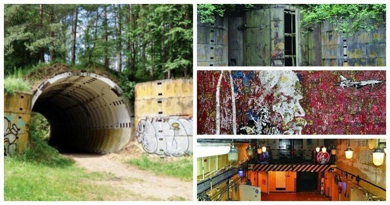 Поляк обнаружил заброшенные советские бункеры и утверждает, что их использовали для ядерного оружия