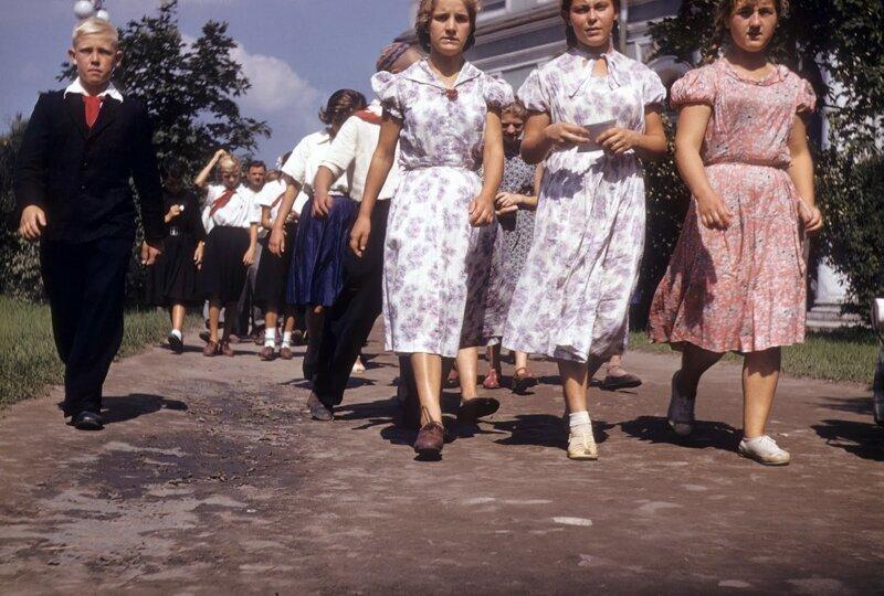 СССР 50 х годов глазами американского шпиона