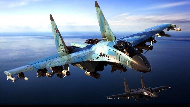 Су-35 унизили восемь истребителей США и Японии