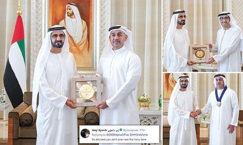 В ОАЭ награды за гендерное равенство вручили исключительно мужчинам