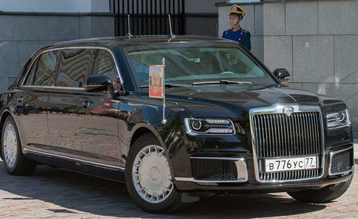 Дилеры начинают прием заказов на автомобили из кортежа президента Путина