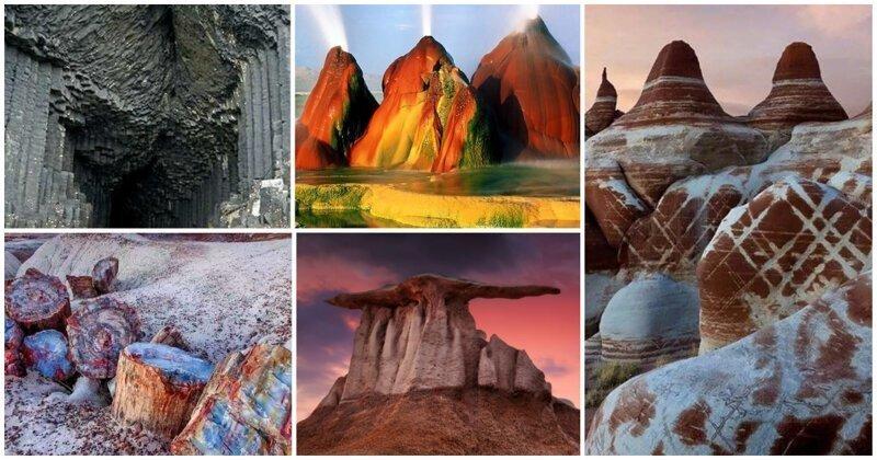 20 настолько фантастических пейзажей, что вы не поверите в то, что они есть на Земле
