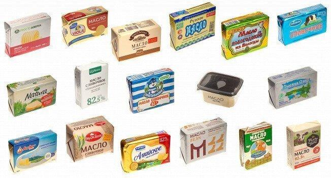 Сливочное масло 82,5%-ной жирности: какое покупать