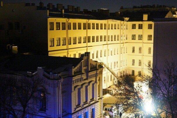 В Питере обрушилось здание института НИУ ИТМО