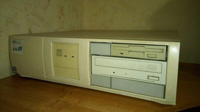 Компьютерной Некрофилии пост: Pentium I от HP