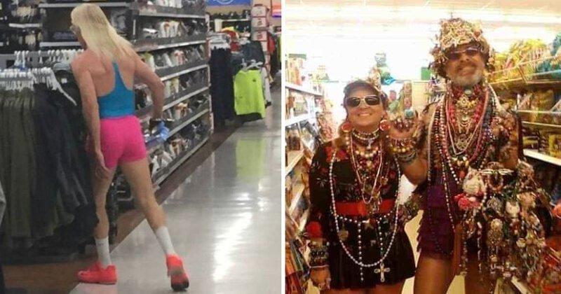 20 нелепых и отчаянных покупателей из Walmart