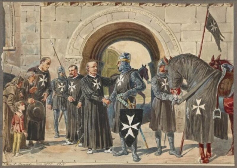 Десять самых могущественных рыцарских орденов