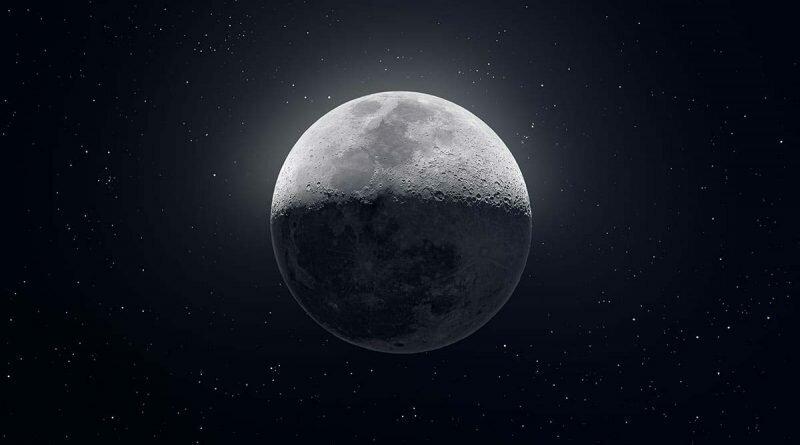Американец сделал 50 тысяч снимков Луны и собрал из них одно фото